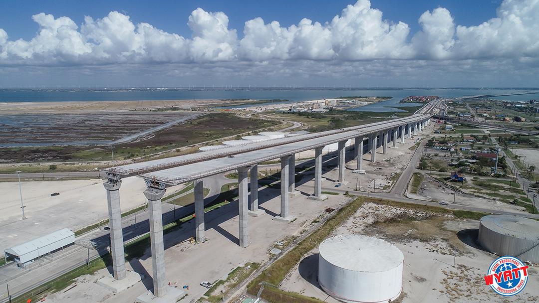 harbor bridge project wyatt aerial productions
