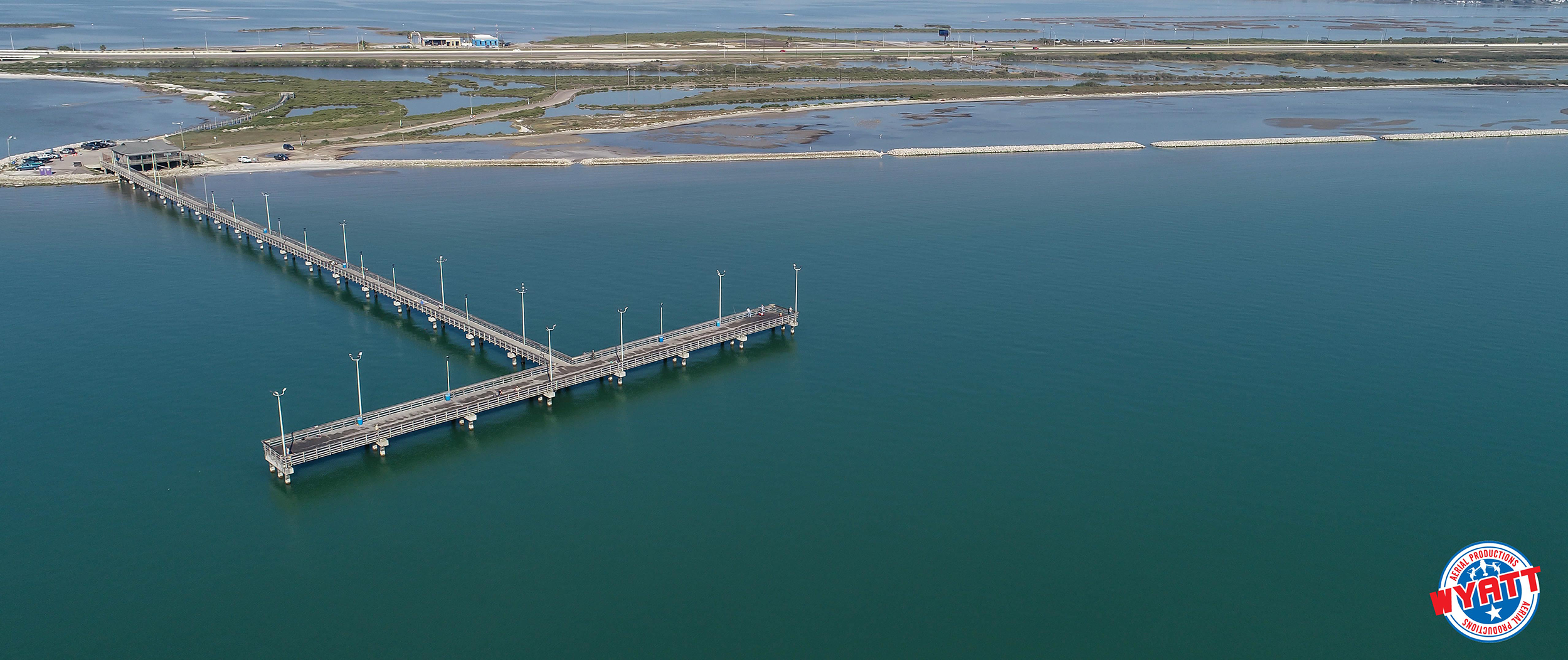 Indian Point Pier Wyatt Aerial Productions
